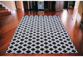 Dywan nowoczesny do salonu ALGIER Czarno Biały FLORENCE