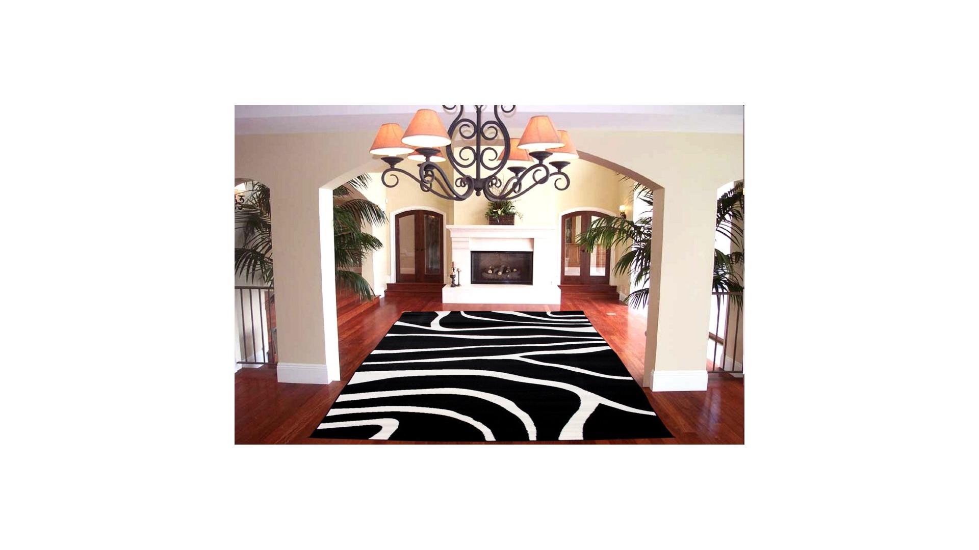Nowoczesny dywan do salonu i sypialni.