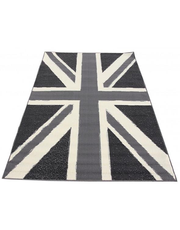 Modne wzornictwo flagi brytyjskiej.