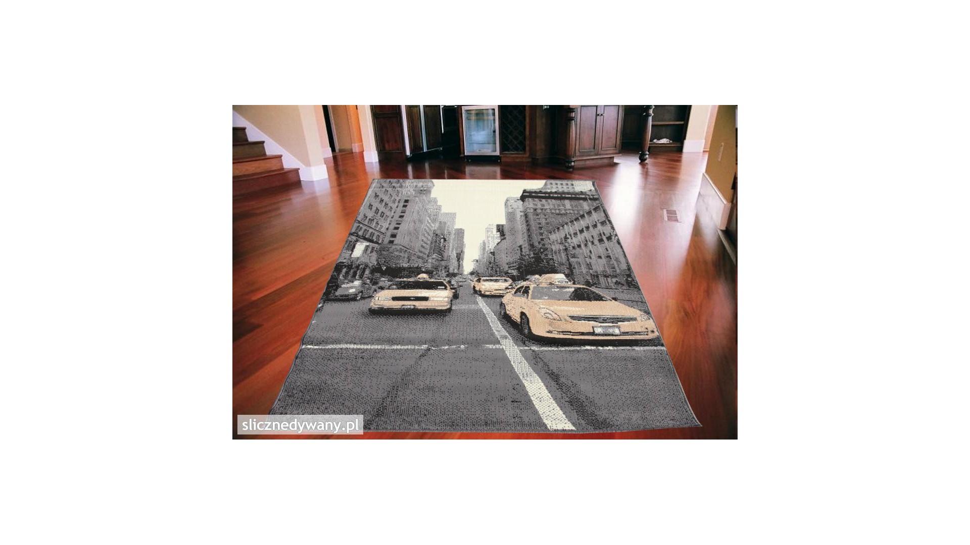 Nowoczesny dywan do salonu.