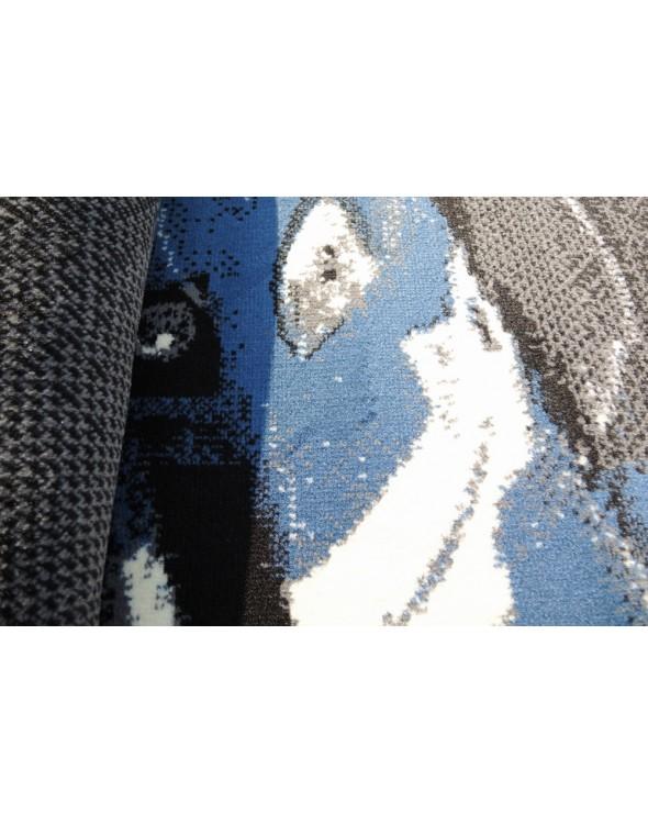 Dywan Ferrari Black Blue.