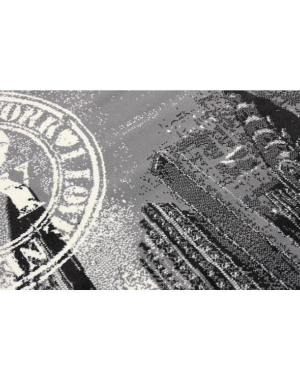 Przędza użyta do produkcji dywanu to polipropylen.