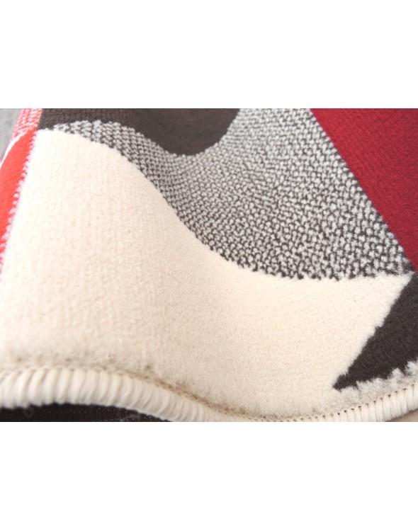 Nowoczesny dywan dla dzieci i dorosłych.