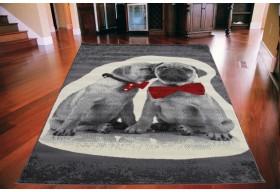 Wysoka jakość dywanu.