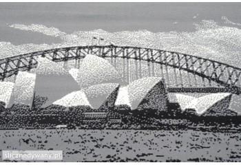 Ma bardzo ładne wzornictwo mostu.