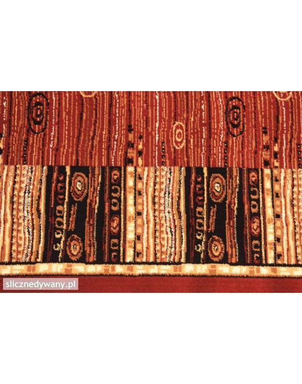 Dywan został wykonany z wysokiej jakości materiału.