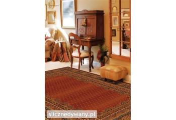 Dywan wełniany do salonu BARON Burgund POLONIA