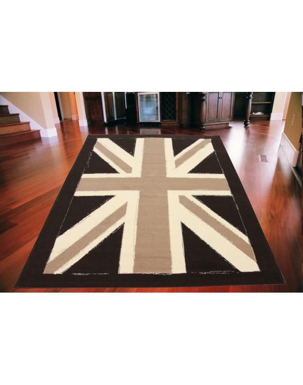 Ciekawe wzornictwo z flagą Brytyjską.