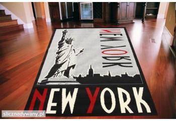 Dywan młodzieżowy NEW YORK ELLIS Czarny CITY