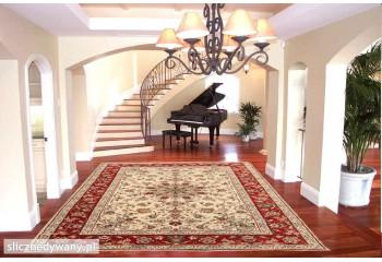 Modne kombinacje dywanu.