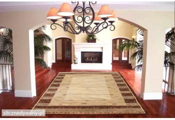 Modne kombinacje dywanu, wpasuje się w każdy wystrój pomieszczenia.
