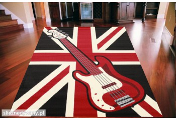 Dywan Union Jack Guitars...