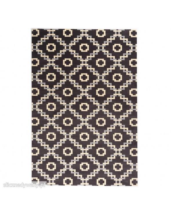Modne ciemne barwy. Dywan wełniany, kolekcja ISFAHAN.