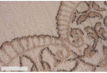 Posiada przepiękne kombinacje oraz odcienie dywanu.