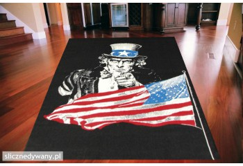 Dywan Uncle Sam BLACK BLUE...