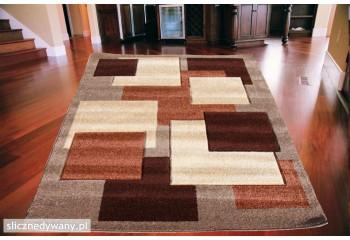 Dywan nowoczesny do salonu KUBIT Kamelowo Brązowy 2041 Camel Brown SIN