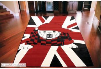Dywan Union Jack Bulldog...