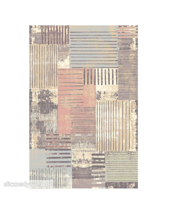Przepiękne kombinacje dywanu.