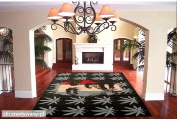 Idealny dywan do pokoju młodzieżowego.