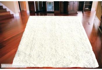 Dywan Shaggy Biały White Biel