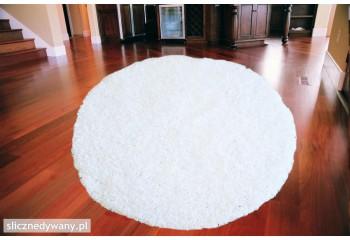 Dywan Shaggy Biały White...