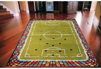 Dywan dla dzieci ALE MECZ Piłka Boisko FREE