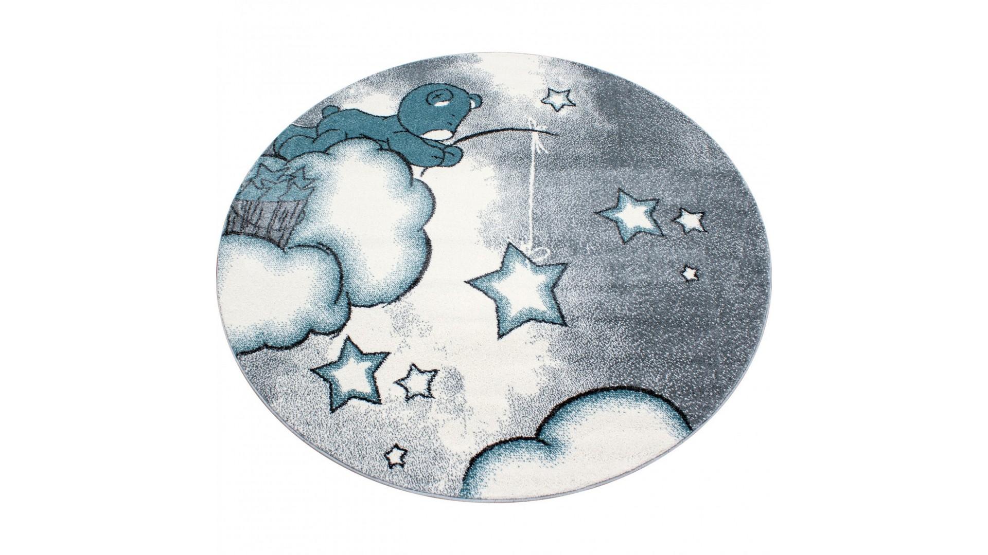 Dywanik, na którym znajduje się misio, który próbuje złowić gwiazdę z nieba.
