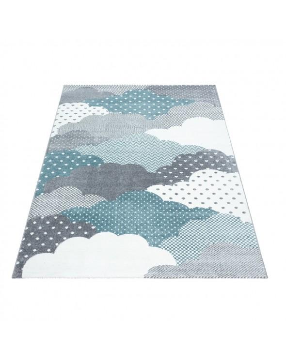 Nowoczesna kolorystyka, dbałość o szczegóły oraz ciekawe wzornictwo to główne atuty dywanu.