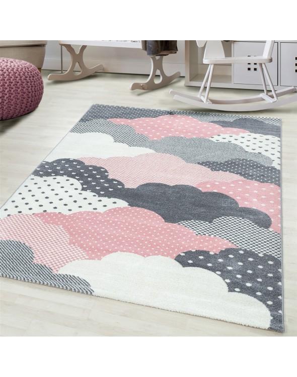 Chmurki na niebie to dywan dostępny w najnowszej kolekcji Bambino.