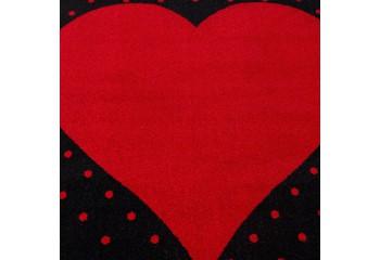 Soczysta kolorystyka. Przepiękna czerwień oraz czerń doskonale ożywi każde wnętrze.