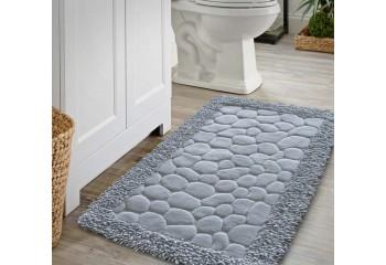 Komplet dywaników łazienkowych Szary 02 BOSTON