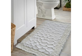 Komplet dywaników łazienkowych Kremowy 02 BOSTON