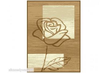 Dywan nowoczesny Róża Beż Kawa ALFA