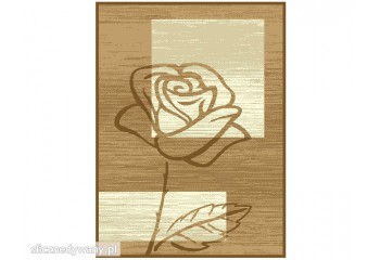 Dywan Róża Beż Kawa ALFA