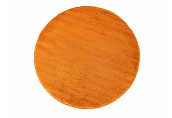 Dywan do salonu Portofino jednokolorowy Koło Pomarańczowe (N)