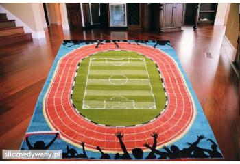 Dywan Piłka Nożna dla dzieci i młodzieży Stadion Fun FREE