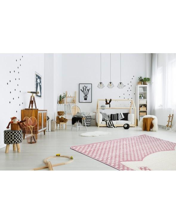 Rewelacyjny dywan dla dziecka. Heat-Set Frisee Carved. Wysoka jakość