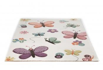 Wysokiej jakości przędza Het-Set Frisee w dywanach dla dzieci.