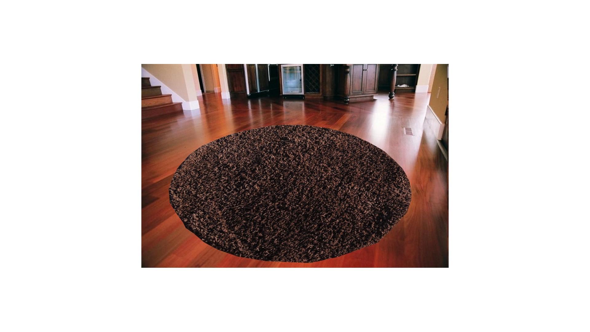 Dywan okrągły ale można także zamówić dywan w tym kolorze na wybrany wymiar i kształt