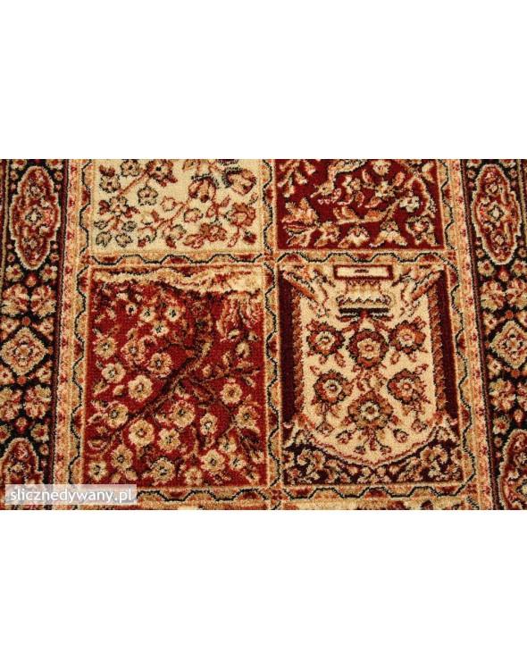 Piękne, modne barwy dywanu.