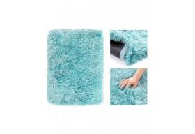 Amelia Home dywan do salonu, sypialni SHAGGY 160x200 Turkusowy