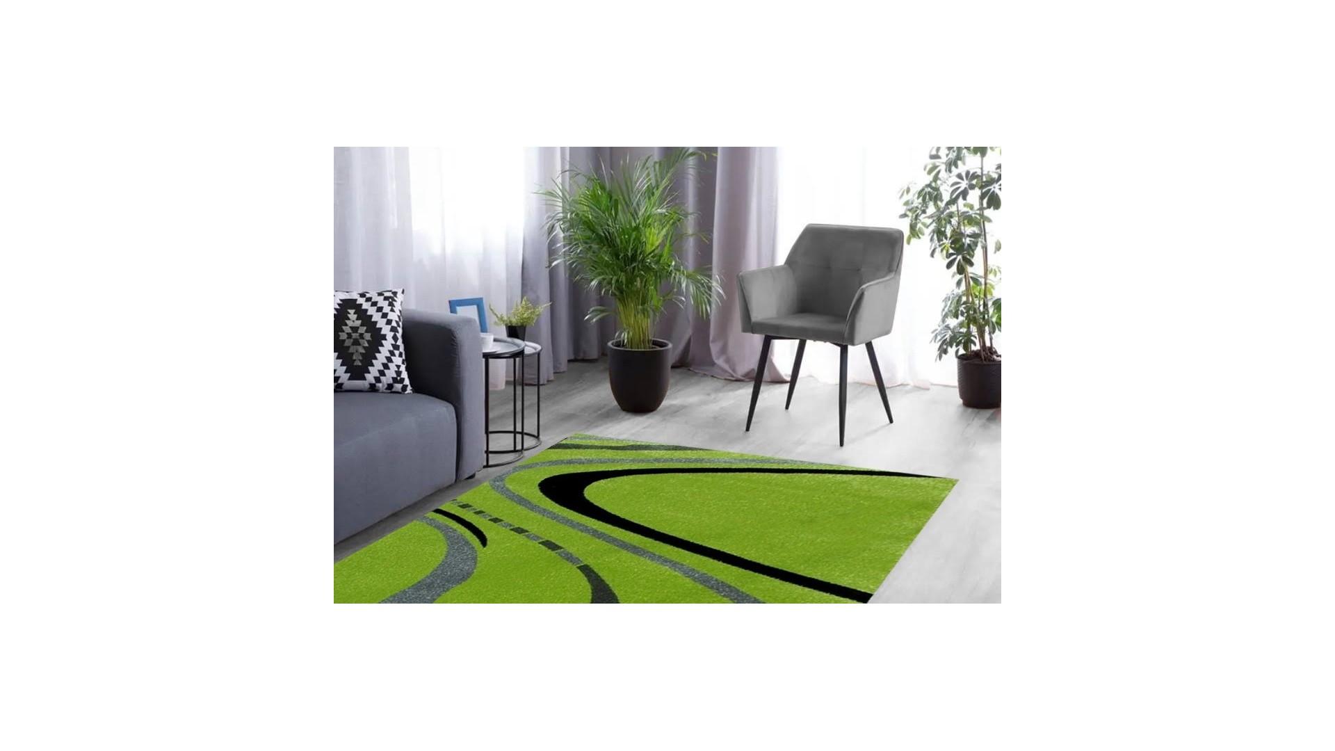 Przepiękny nowoczesny dywan.