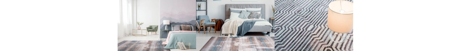 Pięknie barwione z wytrzymałej przędzy dywany do salonu Agnella