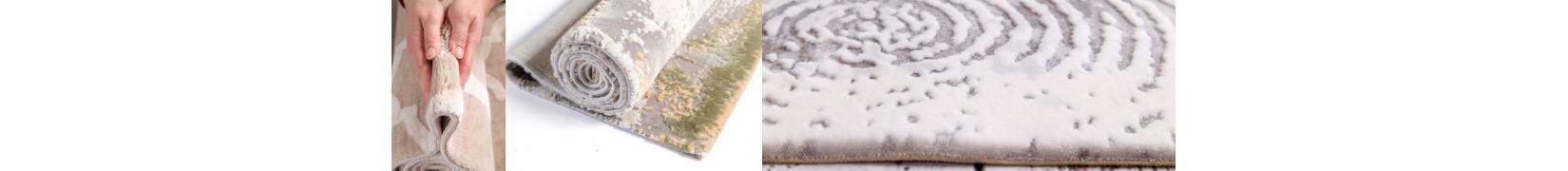 Dywany akrylowe do salonu. Nowoczesne z akrylu - sklep Śliczne Dywany