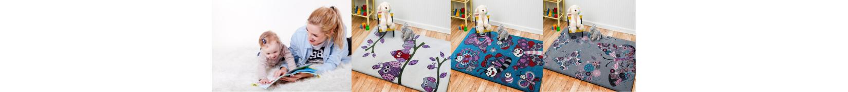 Dywany dziecięce kolekcja BELLA KIDS od ŚliczneDywany.pl