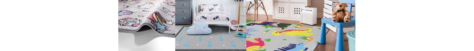 Ciekawe wzory, kolorystyka dywany dziecięce CANDY
