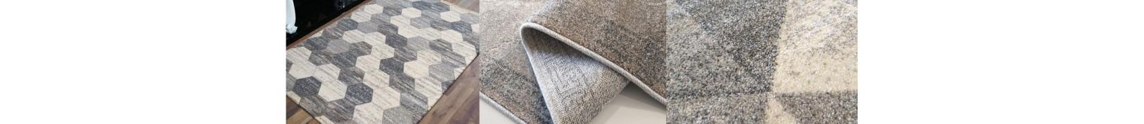 Przepiękne szaro - beżowe dywany do salonu VISTA