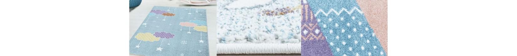 Piękne dywany dziecięce dla chłopca i dziewczynki LAKI
