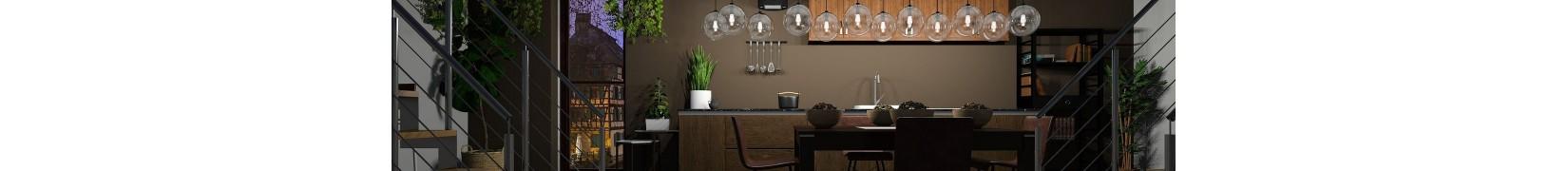 Home decor do kuchni. Obrusy, meble, oświetlenie, ręczniki
