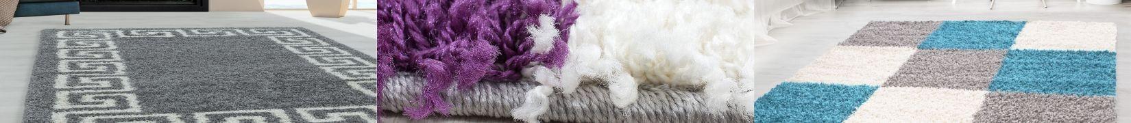 Dywany Shaggy. Kudłacze z długim włosiem do salonu, sypialni - sklep Śliczne Dywany